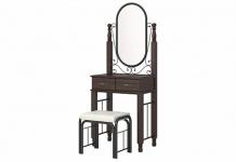 Туалетный столик с банкеткой Garda 2R