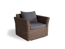 Кресло из ротанга 4SIS Капучино коричневый (Арт.YH-C1130W-3)