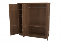 Шкаф распашной 3-х створчатый с ящиками Эдем Комби ЛДСП