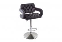 Барный стул кресло Shiny черный (Арт. 1888)