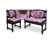Угловой диван для кухни Картрайд Шале