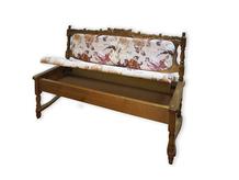 Кухонный диван с ящиком Картрайд Шале
