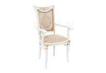 Стул кресло Mariano молочное патина (Арт.263503)